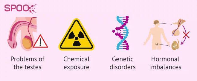علت های آزواسپرمی ترشحی یا غیرانسدادی